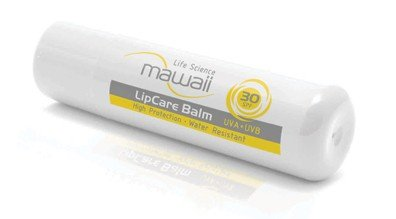 mawaii - SunCare LipCare Balm SPF 30 (LSF 30) - Lippenpflegestift mit Vitamin E, 4,8 g - Vanillegeschmack